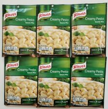 6 Knorr Creamy Pesto Sauce Mix Packets (1.2 Oz)  EXP Oct 2022 *FREE SHIPPING*