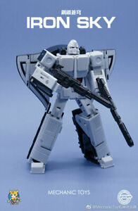 Transformers Mechanic Studios MS-20B Iron Sky Black and White Version IN USA NOW