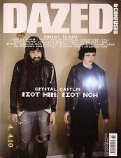 DAZED & CONFUSED Magazine June 2010 CRYSTAL CASTLES Tahar Rahim COLLIER SCHORR