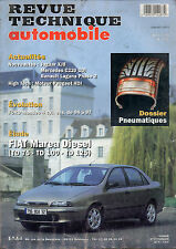 RTA revue technique l'expert automobile n ° 606 FIAT MAREA