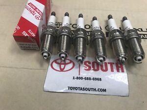 2005-2015 Toyota Tacoma 4.0 L V6  Genuine OEM Set Of 6 Spark Plugs 90919-01235