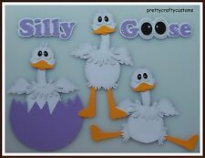 Silly Goose Premade Paper Piecing Embellishments 4 Pages SC4S