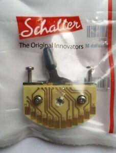 Schaller Megaswitch Type M, 5-Wege SSS-HH