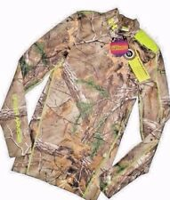 UNDER ARMOUR UA ColdGear Infrared Scent Control Evo Realtree Xtra Mock SMALL S