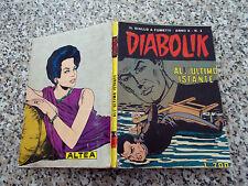 DIABOLIK ANNO X ORIGINALE N.3 DEL 1971 MB/OTTIMO TIPO KRIMINAL SATANIK KILLING