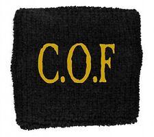 CRADLE OF FILTH cof/black SWEATBAND official licensed merchandise COF