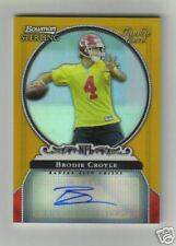 06 BOWMAN STERLING BRODIE CROYLE GOLD REFRACTOR AUTO