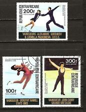 Central Africa # C147-9 Used Olympic Game Winners