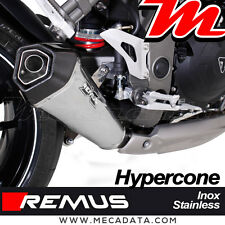 Silencieux Pot échappement Remus Hypercone inox Triumph Speed Triple 1050 - 2015