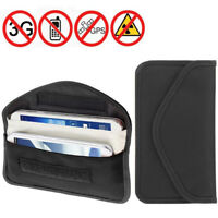 RFID Signal Blocker Anti-Radiation Case Bags Pouch for 6 inch Mobile Phone Cards