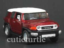 Kinsmart Toyota FJ Cruiser SUV 1:36 Diecast Toy Car KT5343D Red