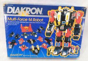 Vintage Takara Diakron Multi-force 14 Robot 1983 - In Box - Read Description
