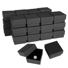 """24/48/72/96 Lot 2""""x2 Wholesale Ring Earring Gift Jewelry Box w/Foam Insert Case"""