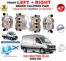 FOR VW CRAFTER 30-50 2006-ON FRONT LEFT + RIGHT BRAKE CALIPERS 2.0 2.5 TDi 2E 2F