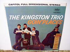 THE KINGSTON TRIO, GOING PLACES, RARE 1962  CLASSIC FOLK BALLADS