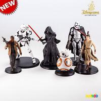 NEW Loose Disney Star Wars The Force Awakens 6-Figurine Cake Topper Playset