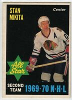 1970-71 O-Pee-Chee #240 Stan Mikita AS2 VG-EX - SET BREAK (112919-23)