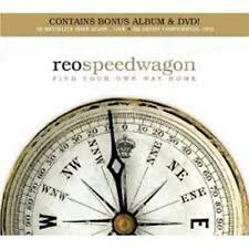 Reo Speedwagon-find your own way home + LIVE CD + Unplugged DVD RARE BOX