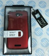 Aegis Uunique HTC One X Hard Shell Case Red