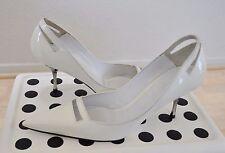 dd12fd73a brand new women s Sebastian patent leather white pumps