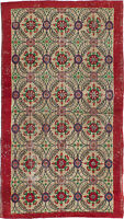 "Hand-knotted Turkish Carpet 4'3"" x 8'2"" Melis Vintage Traditional Wool Rug"
