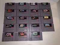 SNES Super Nintendo Game Cartridge - Pick and Choose