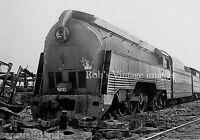 C&O Chesapeake & Ohio Steam Locomotive 490 End of The Line Railroad train photo