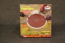 """ATLAS HO SCALE Manual Operated 9"""" TURNTABLE - Opened Box"""