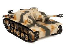 1:16 Taigen Sturmgeschutz III RC Tank 2.4GHz Smoke & Sound Metal Gear New