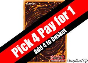 YuGiOh - Rare/Ultra Rare/Super Rare/Secret Rare/Starfoil Cards - Various Sets x1