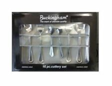 Unbranded Stainless Steel Handle Cutlery Sets & Canteens 16 Pieces