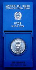 REPUBBLICA 500 LIRE 1984 XIII OLIMPIADI LOS ANGELES ARGENTO FDC ZECCA