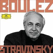 Boulez Conducts Stravinsky 6 CDs , DG Deutsche Grammophon NEW. SEALED