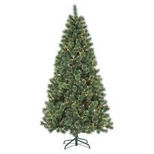 Gerson Gerson 7' Pre-Lit Artificial Christmas Tree Deluxe Cashmere  Clear Lights