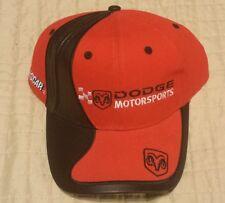 DODGE MOTORSPORTS RACING NASCAR CAP VINTAGE