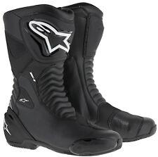 ALPINESTARS Motorradstiefel SMX-S Stiefel Sport Boots atmungsaktiv schwarz Gr 41