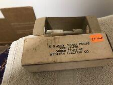 NOS Western Electric/Ken Rad 1629/VT-138  magic eye vacuum tube