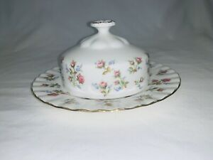 Royal Albert - Winsome, Dome Lidded Butter / Cheese Dish / Cover