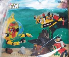 LEGO, Lego System 6442, Taucher Filmteam, Sting Ray Explorer, U-Boot, komplett