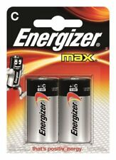 Baterías desechables C Energizer para TV y Home Audio