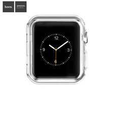HOCO Clear Silicone Rubber Gel Case Cover For Apple Watch Series 3 2 42mm 38mm