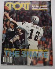 Sport Magazine Rick Barry & Ernie Holmes December 1977 NO ML 071515R