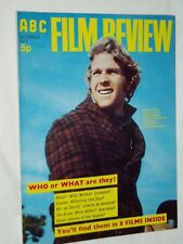 "ABC FILM REVIEW MAGAZINE...(December 1971)...RYAN O'NEAL..""Wild Rovers""   cover"
