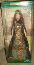 BARBIE COLLECTOR EDITION PRINCESS IRELAND, DOLLS OF THE WORLD, NEW, SEALED,NRFB