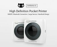 Paperang P2 P300dpi Bluetooth Wireless Thermal Pocket Printer for Android IOS