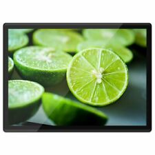 Quickmat Plastic Placemat A3 - Green Lime Fruit Summer  #2616-2