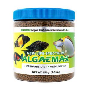 New Life Spectrum Algaemax 2mm Sinnking Pellets (150g)