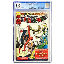 Amazing Spider-Man Annual #1 🔥 1st appearance Sinister Six 🔥 CGC 7.0 MAJOR KEY