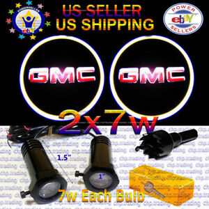 2x7w Ghost Shadow Laser Projector Logo Cree LED Light Courtesy Door Step GMC