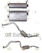 New Ssangyong Musso Closed Off Road Vehicle  2.3 1993-On  Rear & Centre Silencer